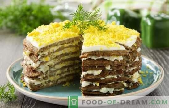 Le gâteau au foie (recette étape par étape) est une collation consistante pour toutes les vacances. Cake au foie de poulet, bœuf, foie de porc
