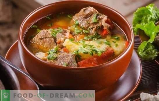 Khashlama en arménien est un invité de l'Est! Recettes nourrissantes de Khashlama en arménien avec différents légumes, viande, volaille, champignons, coings