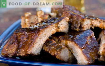 Costine al forno in carta stagnola - i mangiatori di carne saranno felici! Ricette costine nel forno al cartoccio con adzhika, verdure, funghi