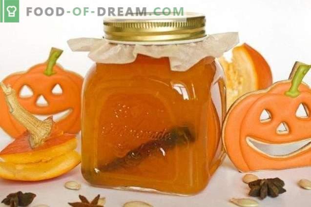 Confiture de citrouille avec des oranges
