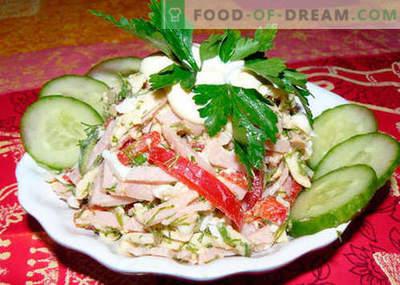 Salade berlinoise - les meilleures recettes. Comment bien et savoureux cuire la salade de Berlin.