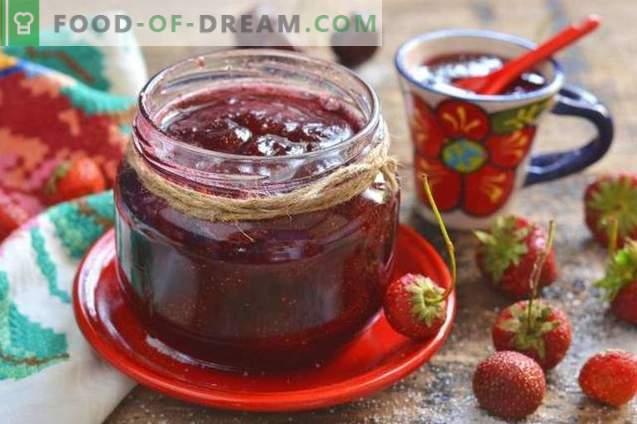 Confiture de fraises et de baies