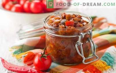 Greek appetizer for the winter - preparation with taste! Recipes Greek appetizers with beans, eggplants, peppers, tomatoes, nuts