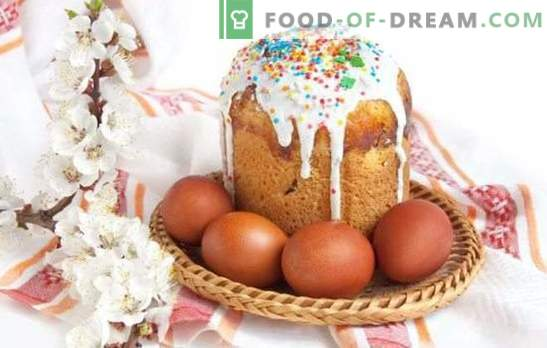 Kulichi sur la levure - se préparer pour des vacances éclatantes. Recettes de gâteaux de Pâques faits maison avec de la levure avec des fruits confits, du fromage cottage et autres
