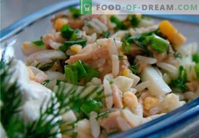 Salade de morue - recettes de cuisine éprouvées. Comment faire cuire une salade de morue.