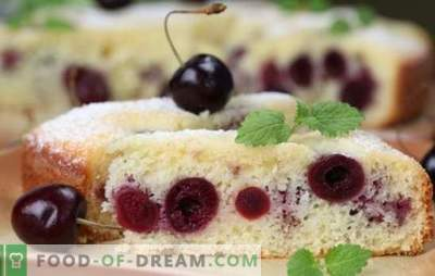Tartes aux biscuits et sablo - cerises à la mijoteuse. Recettes de pâte et garnitures pour tartes aux cerises dans une cocotte