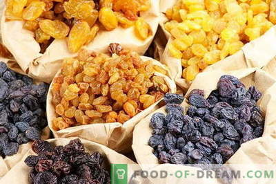 Compote de raisins - les meilleures recettes. Comment bien et savoureuse compote de raisins secs.