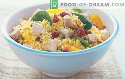 Salades à la dinde - collations copieuses pour les vacances et les jours de semaine. Recettes pour les salades de dinde, qui fonctionnent toujours