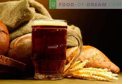 Kvass maison: pain, seigle, levain, sans levure - les meilleures recettes. Comment faire du kvass à la maison.