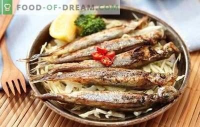 """Capelim no forno: peixe """"gato"""" pode ser uma iguaria se for bem cozido! Receitas cozinhar capelim no forno"""