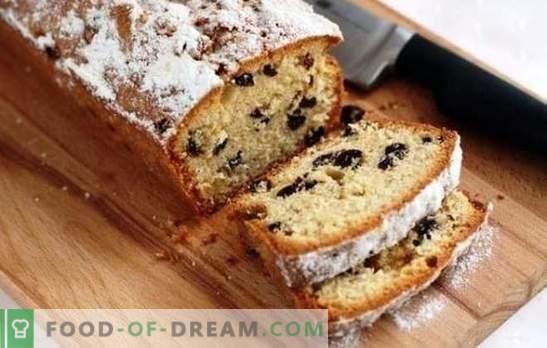 Le gâteau parfait aux raisins secs: une recette selon GOST ou une pâtisserie maison? Cupcake