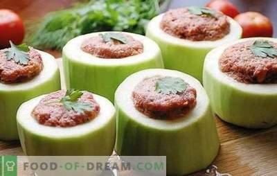 Courgettes farcies dans une mijoteuse - tout est possible! Recettes de courgettes farcies à la mijoteuse: avec des légumes, des céréales, de la viande