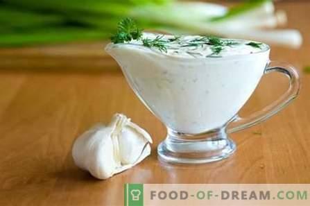 Sauce blanche - les meilleures recettes. Comment préparer correctement et délicieusement une sauce blanche.