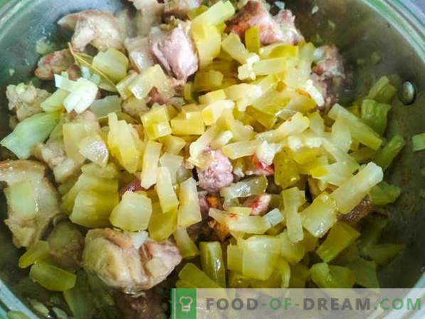 Le goulash est une soupe: deux bonnes recettes de goulash et l'histoire du plat