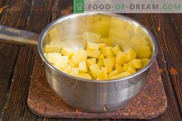 Soupe au lait avec des légumes - inhabituelle mais très savoureuse!