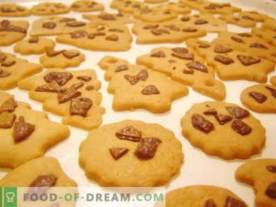 Sablés - les meilleures recettes. Comme c'est délicieux de cuisiner des biscuits sablés.