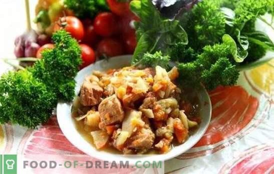 Le mouton Khashlama est un plat caucasien juteux, parfumé et nourrissant dans votre cuisine. Les meilleures recettes pour khashlama d'agneau