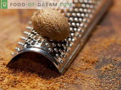 Noix de muscade - propriétés et utilisation en cuisine. Recettes à la noix de muscade.