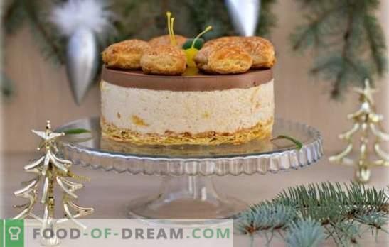 Le gâteau nu est une nouvelle tendance en matière de confiserie. Recettes et idées intéressantes pour la décoration de gâteaux nus modernes