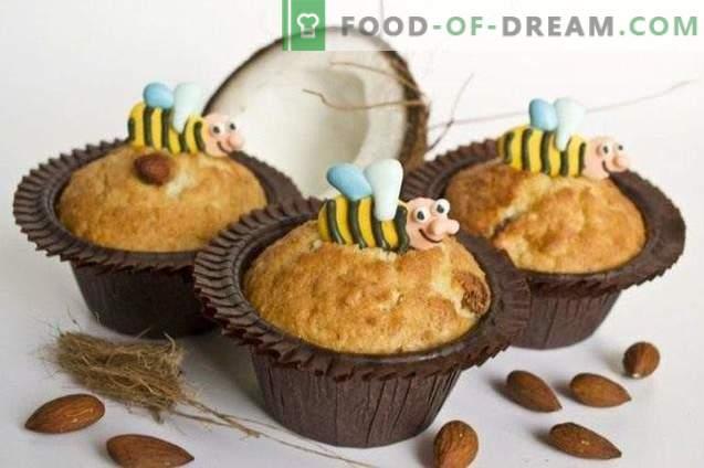 Muffins à la noix de coco