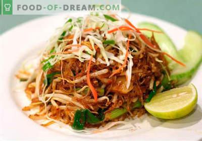 Salades chinoises - une sélection des meilleures recettes. Comment cuire correctement et savoureux des salades chinoises.