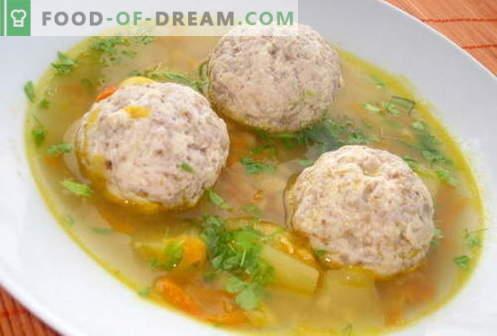 Soupe aux pois - les meilleures recettes. Comment bien et savoureux cuire la soupe aux pois.