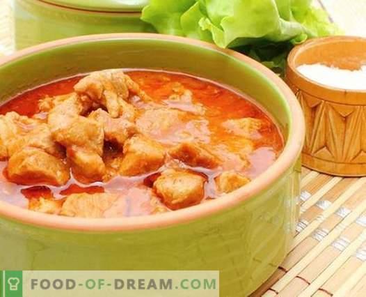 Sauce au poulet - les meilleures recettes. Comment bien et savoureux cuire la sauce de poulet.
