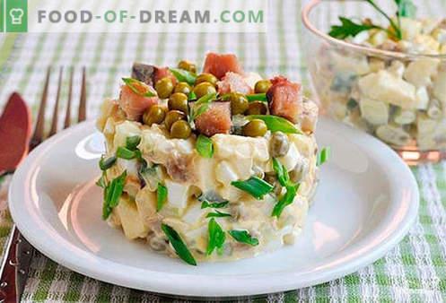 Salade de maquereau - les meilleures recettes. Comment bien et savoureux préparer une salade de maquereau.