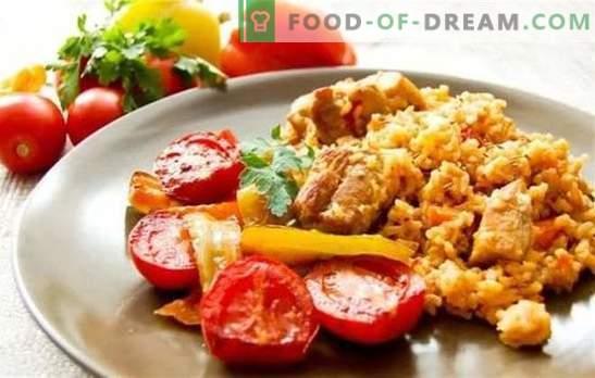 Pilaf ouzbek au porc - nourrissant, parfumé, savoureux. Secrets et succès de diverses recettes de pilaf ouzbek au porc