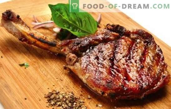 Porc sur os - Des recettes pour une viande des plus délicieuses. Comment faire cuire du porc sur l'os au four, dans la cocotte et sur la cuisinière
