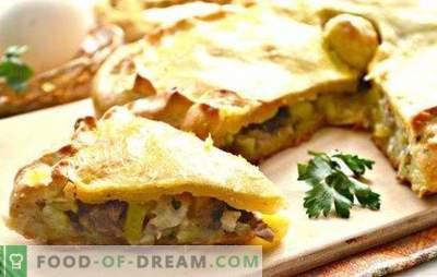 Kurnik au poulet avec pommes de terre: une recette pas à pas pour la tarte à la russe. Comment faire cuire du poulet avec des pommes de terre (recettes étape par étape)