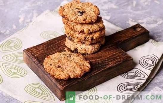 recettes de biscuits faits maison - rapides et savoureux! Chocolat, vanille, noisette, miel et autres types de biscuits rapides