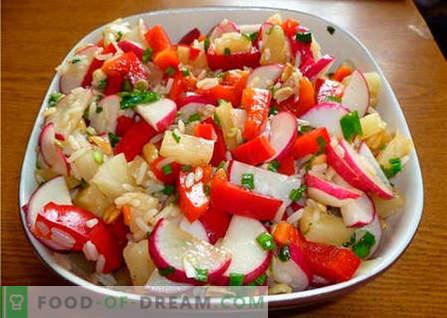Salade orientale - les meilleures recettes. Comment faire cuire correctement et délicieusement la salade orientale.