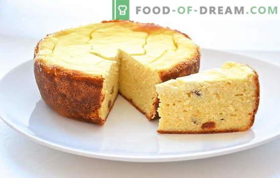 Casserole de fromage cottage dans une mijoteuse - variations sucrées et végétales. Recettes de casserole de fromage cottage parfumée et luxuriante dans une mijoteuse