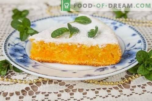 Gâteau aux carottes - savoureux, économique et sain!