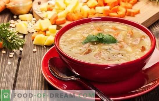 Žirnių sriubos virimo klaidos, visos paslaptys ir subtilybės