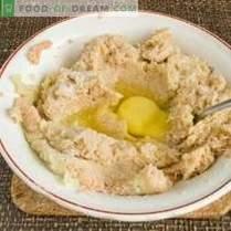 Boulettes de pommes de terre à la viande