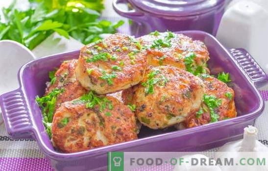 Rencontrez les invités avec des boulettes de dinde! Recettes de boulettes de viande hachées à la dinde tendre et consistante avec garniture et sauce