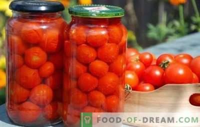 Nous récoltons des tomates maison pour l'hiver. Les meilleures recettes pour la mise en conserve de tomates faites maison pour l'hiver