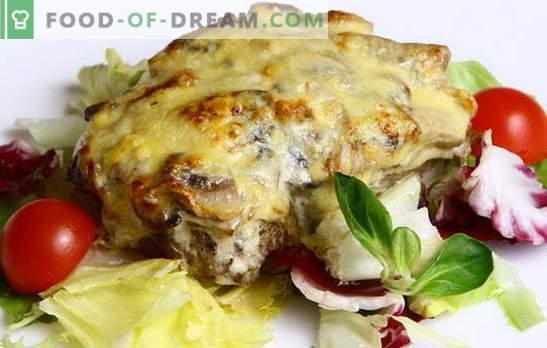 La viande de style capitaine est un plat chargé d'histoire! Diverses recettes de viande à la manière des capitaines: avec pommes de terre, champignons, tomates, fromage