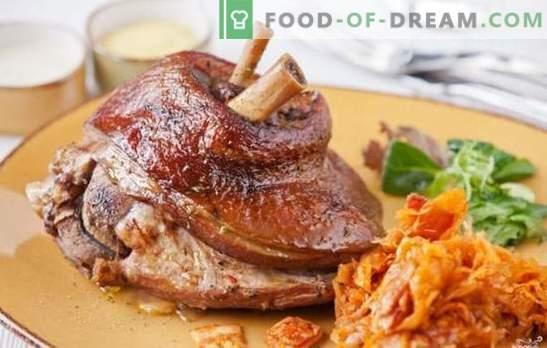 Le jarret de porc dans un multicuiseur est un rêve pour les amateurs de viande. Les meilleures recettes pour cuire un jarret de porc dans une cocotte