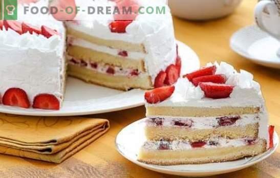 Biscuit Cake Cream: Les meilleures recettes. Choisissez une recette de gâteau aux biscuits et donnez à votre dessert un goût unique!