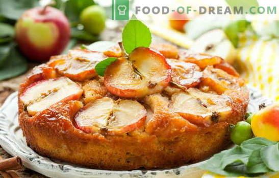 Cuire avec des pommes - engloutir les deux joues! Cuisson de délicieuses pâtisseries aux pommes: tartes, charlottes, croissants, pain d'épice, strudel