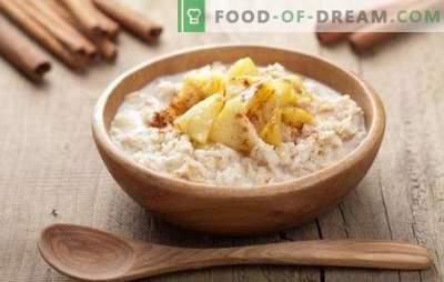 Porridges de carême - nourriture du ciel. Les meilleures recettes utiles et savoureuses pour la cuisson de porridge maigre à partir de différentes céréales, légumes et légumineuses