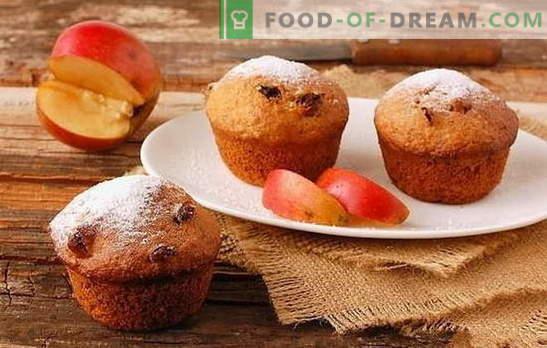 Applecake - le choix des gourmets. Comment surprendre avec une délicieuse pomme et un gâteau aux fruits pour les invités et les ménages: recettes rapides