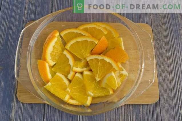 Confiture de groseilles à l'orange