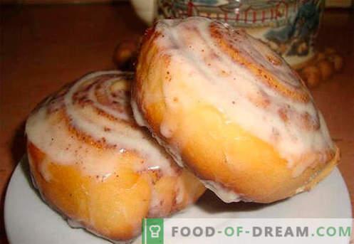 Les petits pains au cannab sont les meilleures recettes. Comment cuire correctement et savourer des petits pains Cinnabon à la maison
