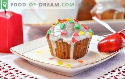 We bake cupcakes on kefir: soft and airy. A selection of the best recipes for muffins on kefir in tins: sweet and salty