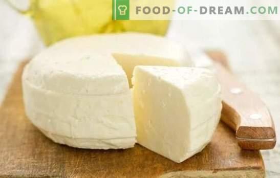 Queso casero: una receta paso a paso para un producto lácteo natural sin aditivos. Los secretos del delicioso queso casero (recetas paso a paso)