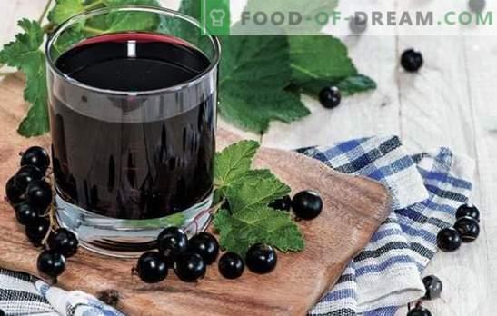Mors de groseilles - cuisiner en été et en hiver! Recettes de différentes boissons aux fruits à base de groseilles rouges, noires, surgelées et fraîches